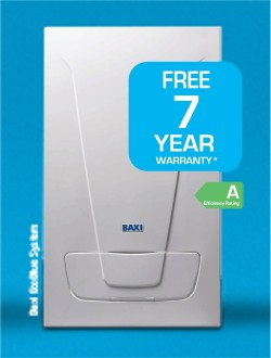 Cill Dara Gas Services  are BAXI approved installers and are able to offer a Free 7 year manufacturer's warranty on new Baxi 'A' efficiency rated boilers.  Counties, Kildare, Carlow, Laois and Offaly, Ireland